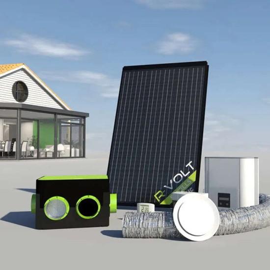 Capteur aérovoltaïque R-Volt de Systovi
