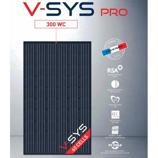 Panneau solaire Monocristallin 300Wc